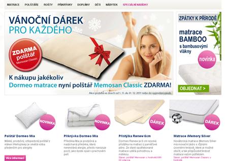 Dormeo.cz obchod