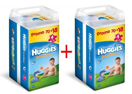 akce na pleny značky huggies
