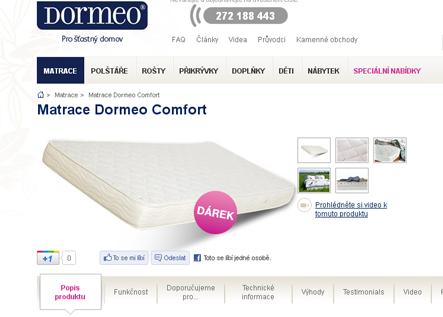 internetový obchod Dormeo