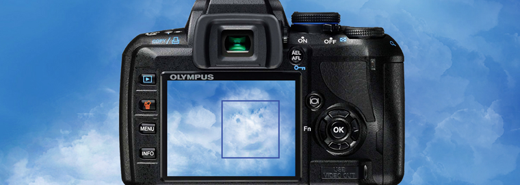AKCE! Olympus E-450 Double Zoom Kit