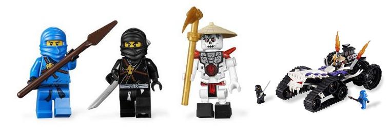 Lego Ninjago, Lego Starwars a Lego City – velké slevy u Mallu