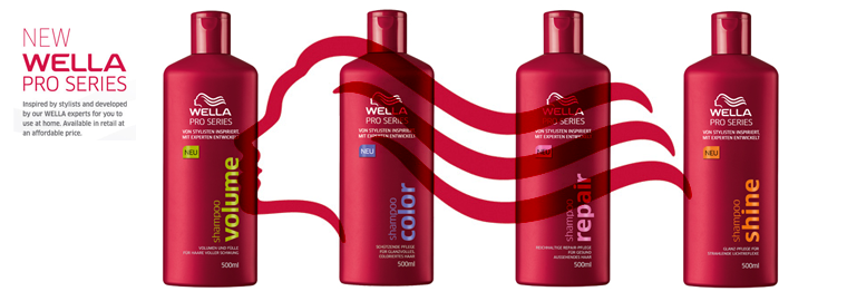 Wella series Pro – vlasová kosmetika levně
