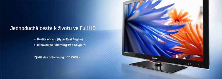 Televize SAMSUNG za nejnižší ceny