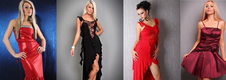 Levné plesové šaty v eshopu In-Oblečení