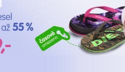 Lodičky, sandály a tenisky Diesel se slevou téměř 55%