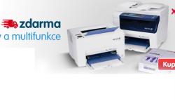 Levné tiskárny Xerox s dopravou zdarma