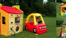 Dětské plastové domečky na zahradu v akci