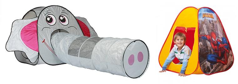 VÝPRODEJ: Dětský stan do bytu či na zahradu v akci