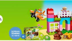 Totální akční výprodej hraček pro holky i kluky