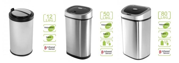 AKCE: Bezdotykové odpadkové koše do každé kuchyně se slevou až 38%