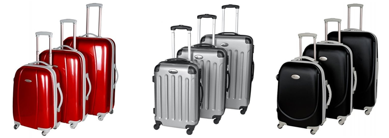 Výprodej: Oblíbené cestovní kufry na kolečkách se slevami až 49%