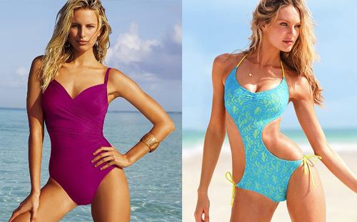 Jednodílné plavky – výprodej